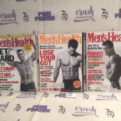 Set of 3 Issues of Men's Health Magazine (April, May, June 2000) [L59]