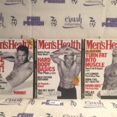 Set of 3 Issues of Men's Health Magazine (July/Aug, Mar, May 1999) [L60]