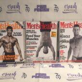 Set of 3 Issues of Men's Health Magazine (Oct 1996, Oct 1997, Mar 1998) [L61]