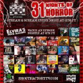 #FilmFetishFacts | Shout! Factory TV 31 Nights Of Horror | Screening Series | October 1, 2021 – October 31, 2021