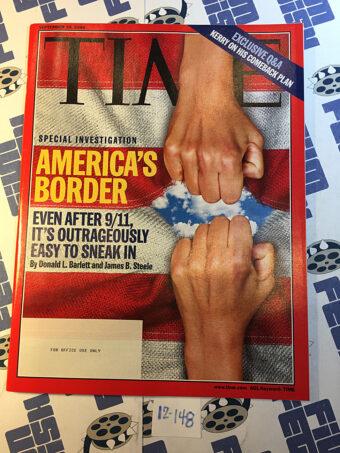 Time Magazine Special Investigation America's Border (September 20, 2004) [12148]