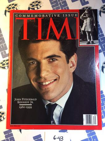 Time Magazine Commemorative Issue John Fitzgerald Kennedy Jr. (July 26, 1999) [643]