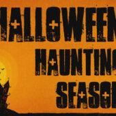 Castle Keep Halloween Horror 18 x 12 Yard Sign Version 1