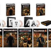 Halloween 1-5 + Exclusive Posters + Vinyl Record + Enamel Pin Shout Factory Set