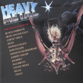 Heavy Metal Music from the Motion Picture Soundtrack ROCKtober Vinyl Edition