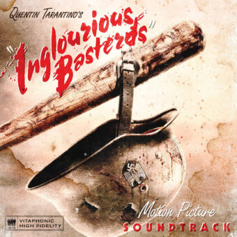 Quentin Tarantino's Inglourious Basterds Original Movie Soundtrack Blood Red Transparent Vinyl Edition