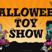 Spooky Auto Monsters Toy Show 18 x 12 inch Yard Sign Version D