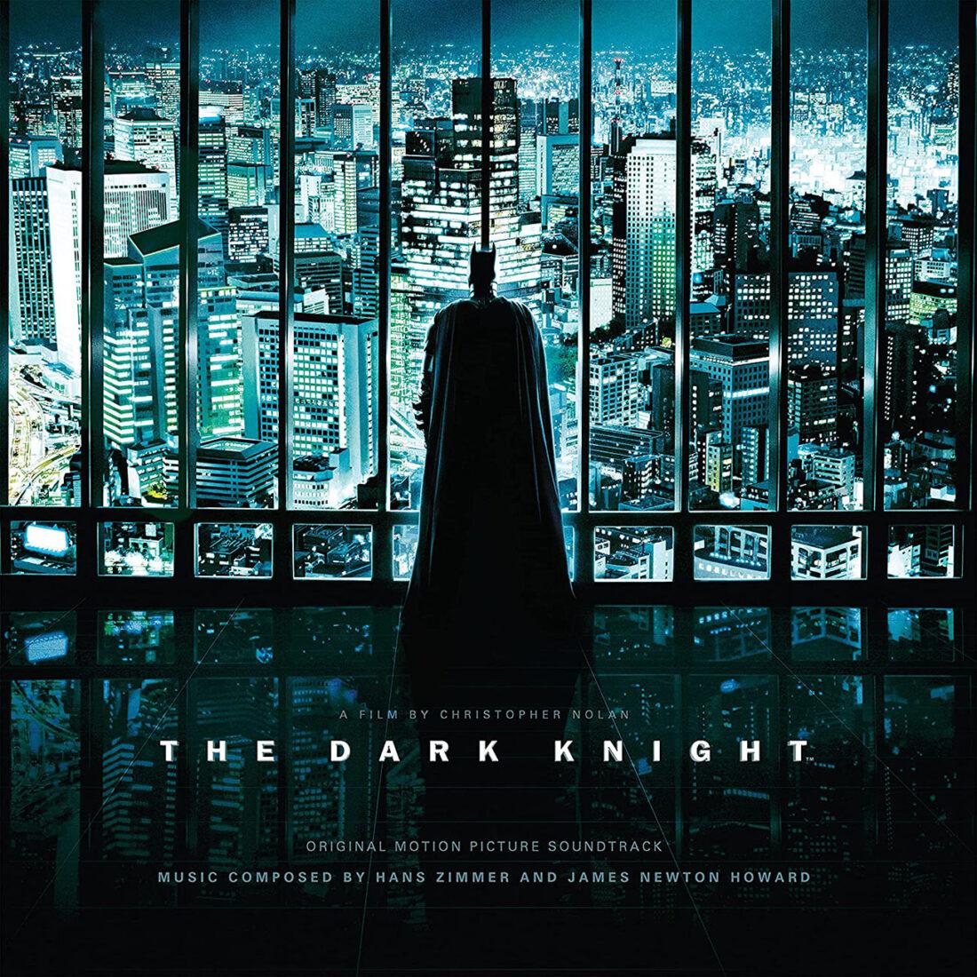 The Dark Knight Original Motion Picture Soundtrack Neon Green-Violet Vinyl Edition