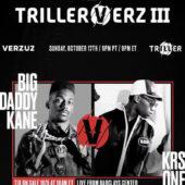 #FilmFetishFacts | TrillerVerz III: Big Daddy Kane vs KRS One | Concert | October 17, 2021