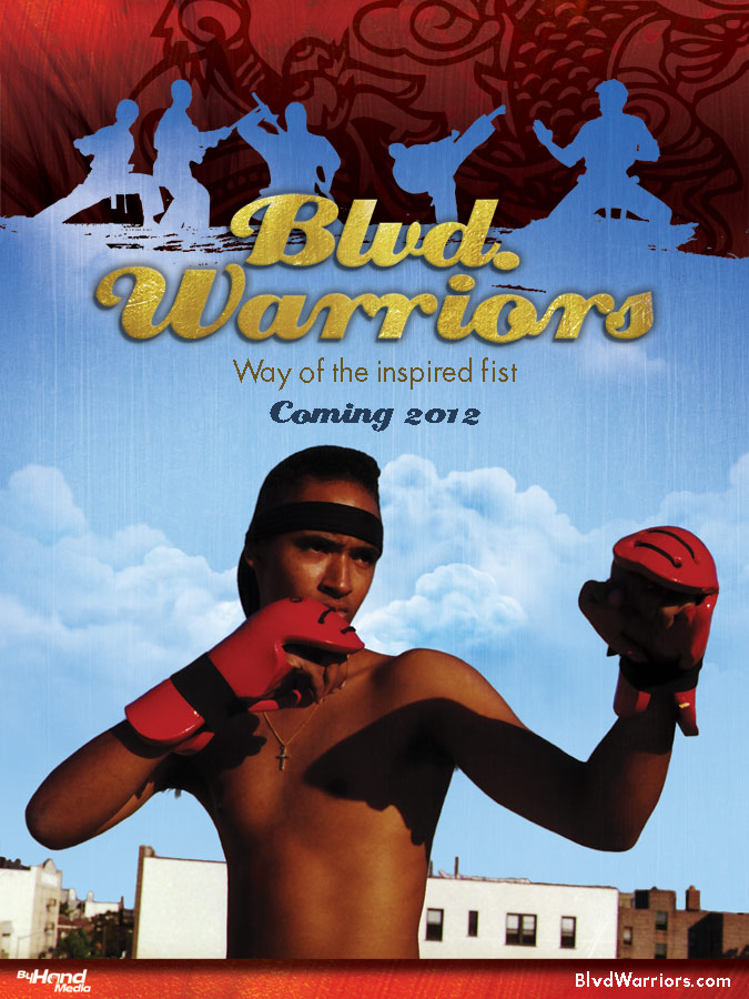 First two teaser posters for Blvd. Warriors