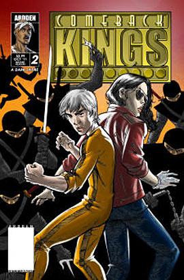 Comeback Kings comic weaves a world where Bruce Lee is sensei to Tupac Shakur, Elvis Presley and Andy Kaufman?