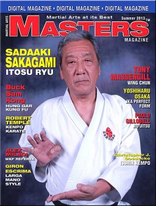 Robert Temple profiled in current issue of Martial Arts Masters Magazine