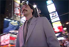 Two Hilarious New Clips From Borat