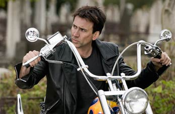 photo of Nicolas Cage as Ghost Rider